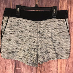 Ann Taylor Loft Black & White Shorts